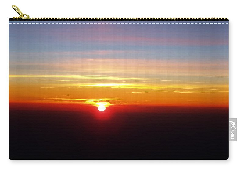 Pastel Carry-all Pouch featuring the photograph Sunset II by Deborah Crew-Johnson