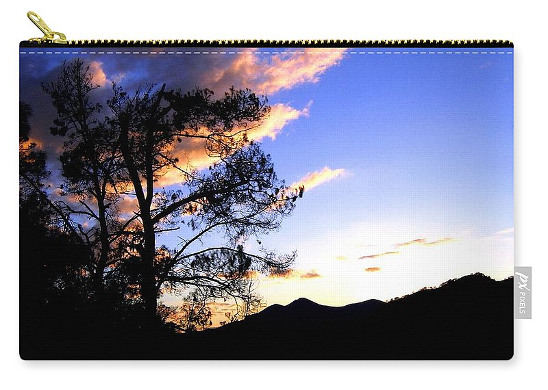 Sunset Carry-all Pouch featuring the photograph Sunset In The Highlands by Will Borden