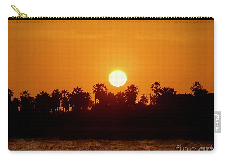 Sunset Carry-all Pouch featuring the photograph Sunset In Ventura by Rachel Morrison
