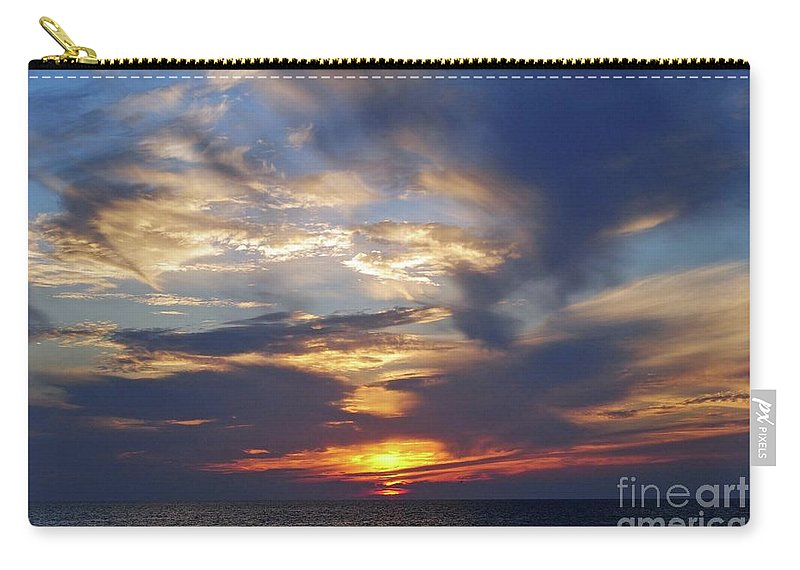 Sunset Carry-all Pouch featuring the photograph Sunset by Jost Houk