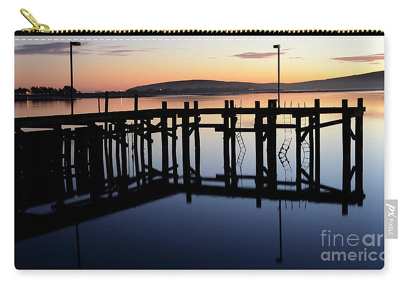 California Carry-all Pouch featuring the photograph Sunset Magic Bodega Bay California by Bob Christopher
