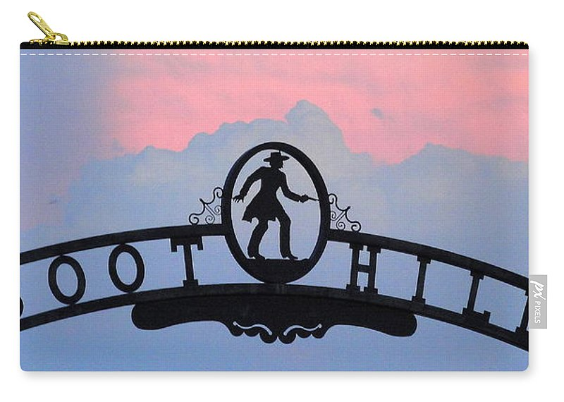 Boot Hill Carry-all Pouch featuring the photograph Sunset On Boot Hill by Cindy New