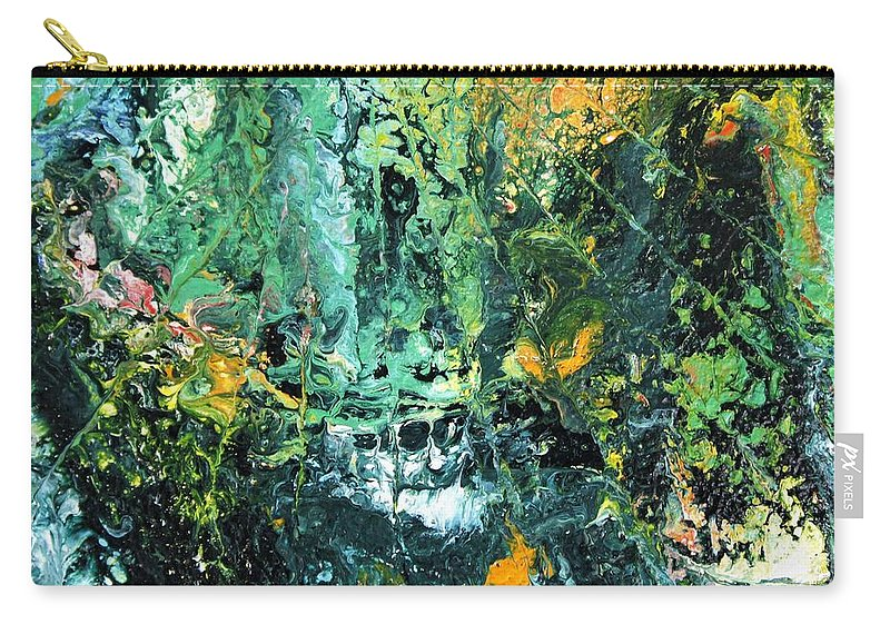 Australian Artist Carry-all Pouch featuring the painting Sunshine by Giro Tavitian