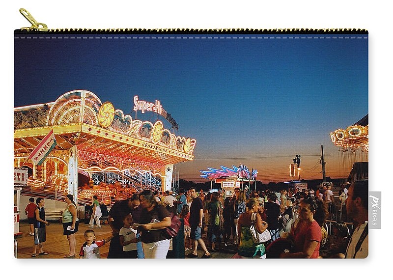 Board Walk Carry-all Pouch featuring the photograph Super Himalaya by Steve Karol