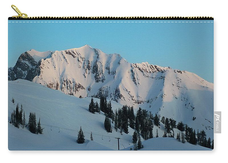 Ski Carry-all Pouch featuring the photograph Superior Sunrise by Michael Cuozzo