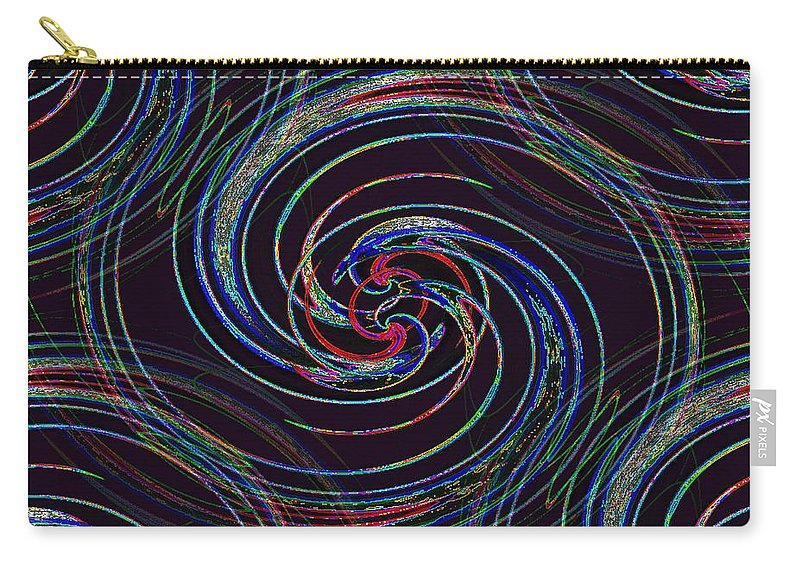 Surfs Up Carry-all Pouch featuring the photograph Surfs Up 2 by Tim Allen