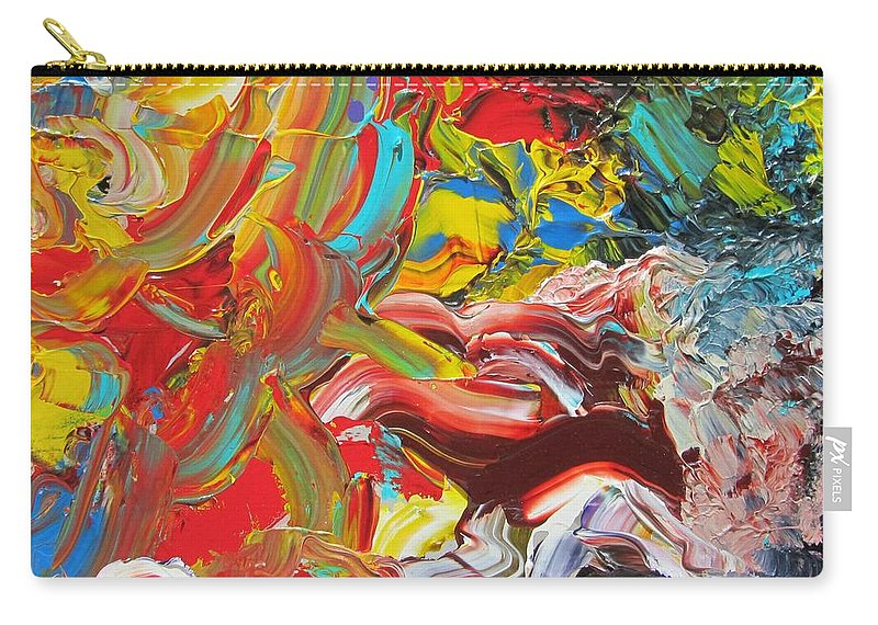 Fusionart Carry-all Pouch featuring the painting Surprise by Ralph White