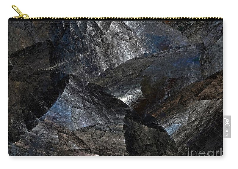 Digital Art Carry-all Pouch featuring the digital art Surreal Dimension by Jutta Wolfram