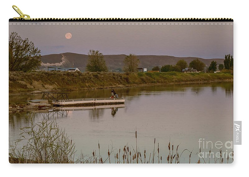Fishing Carry-all Pouch featuring the photograph Surreal Morning by Robert Bales