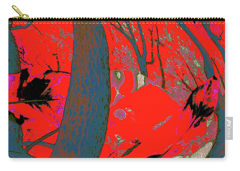 Nature Carry-all Pouch featuring the photograph Surrounded 8 by Gary Bartoloni