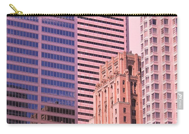 Office Buildings Carry-all Pouch featuring the photograph Surrounded by Ian MacDonald