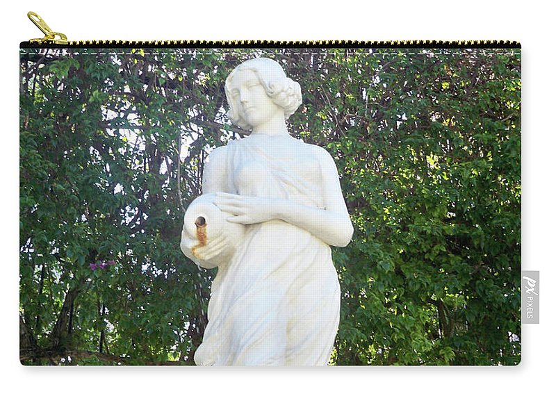 Florida Carry-all Pouch featuring the photograph Suspended Beauty by Chris Andruskiewicz
