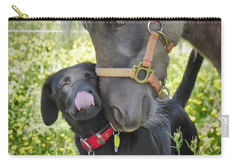 Pets Carry-all Pouch featuring the photograph Sweet Affection by Matt Taylor