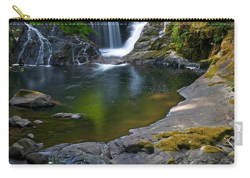 Creek Carry-all Pouch featuring the photograph Sweet Creek by Randall Ingalls