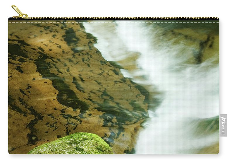 Oregon Carry-all Pouch featuring the photograph Sweet Creek by Renee Hong