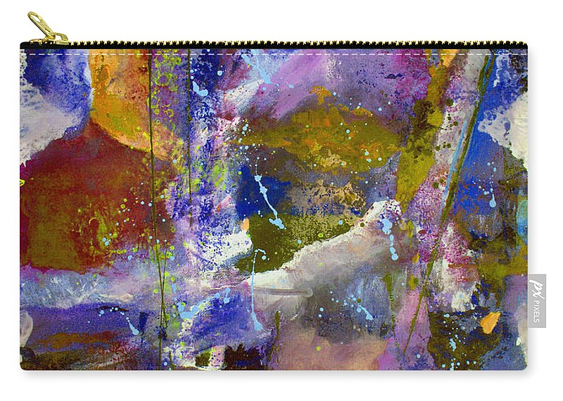 Abstract Carry-all Pouch featuring the painting Sweet Inspiration by Ruth Palmer