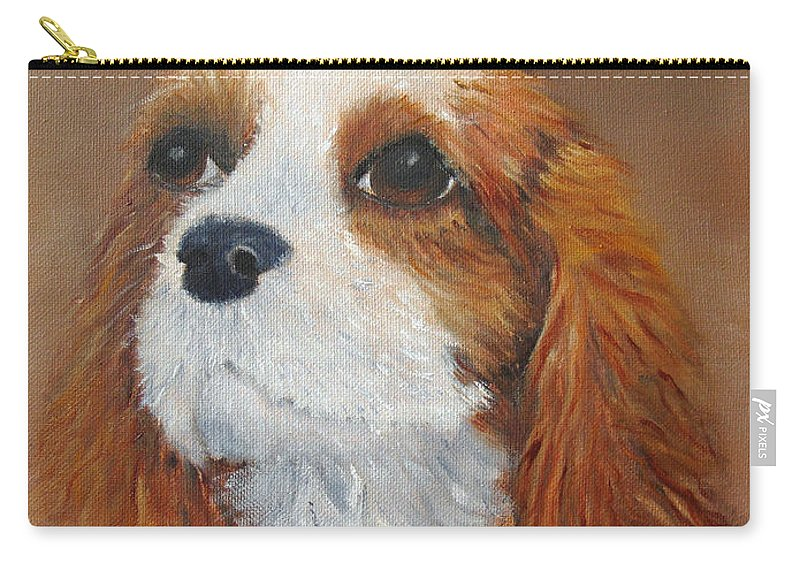 Pet Carry-all Pouch featuring the painting Sweet Maggie by Loretta Luglio