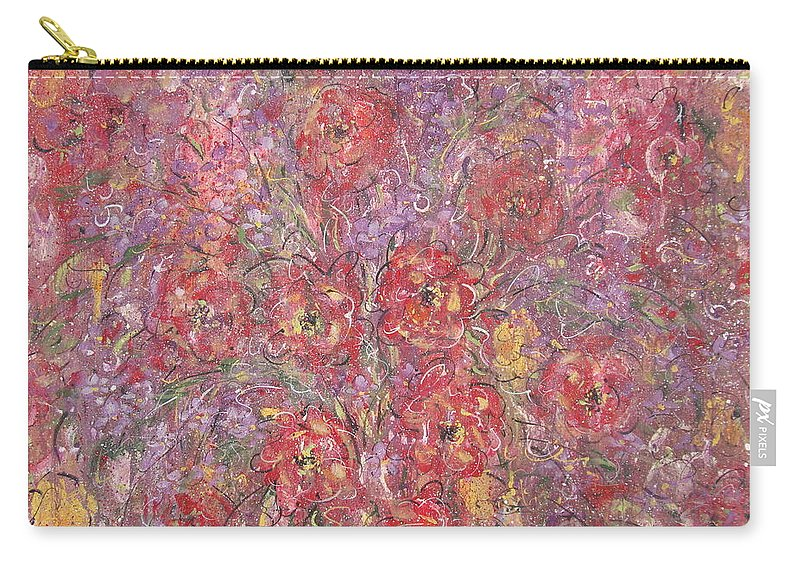 Still Life Carry-all Pouch featuring the painting Sweet Memories by Natalie Holland