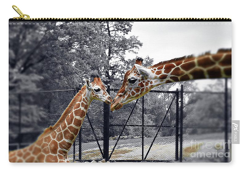 Sweet Moment Carry-all Pouch featuring the photograph Sweet Moment by Patti Whitten