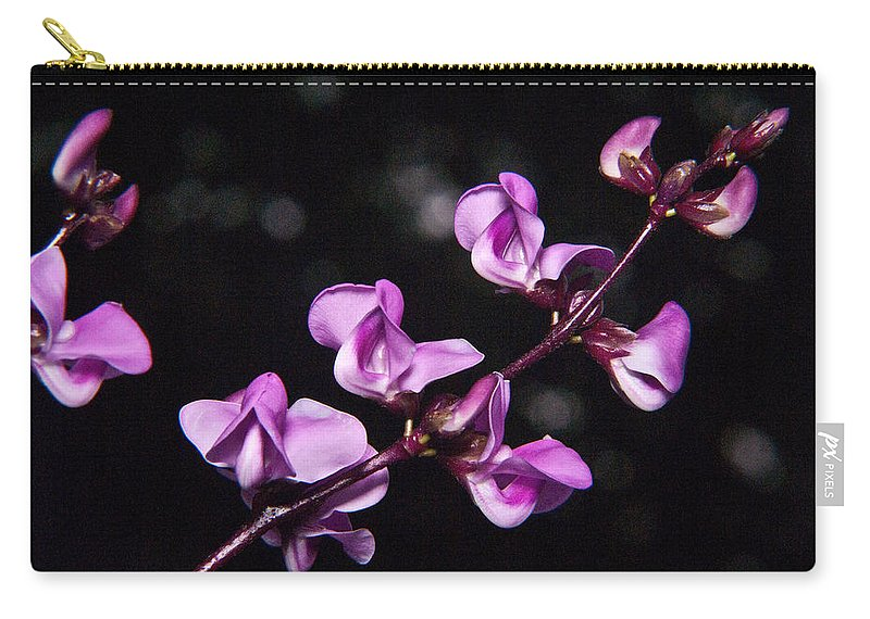 Sweet Carry-all Pouch featuring the photograph Sweet Pea Morning by Douglas Barnett