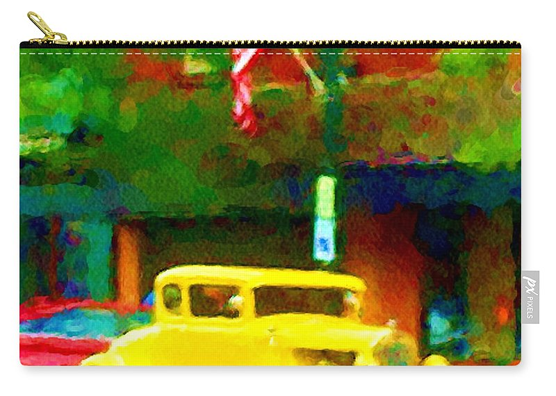 Hot Rod Carry-all Pouch featuring the photograph Sweet Ride by David Lane