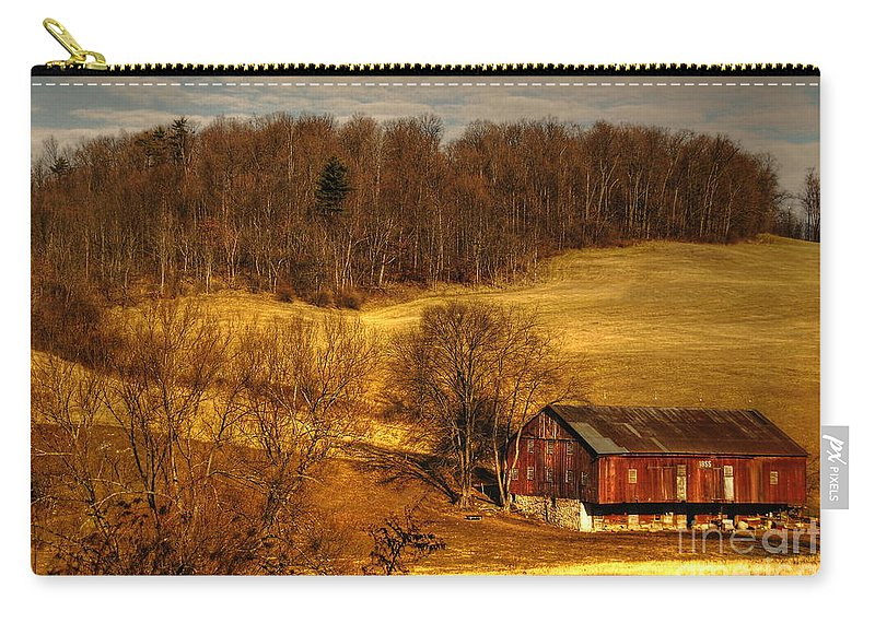 Barn Carry-all Pouch featuring the photograph Sweet Sweet Surrender by Lois Bryan