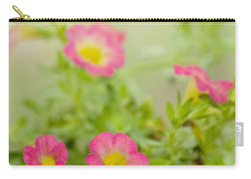 Flowers Carry-all Pouch featuring the photograph Sweet Tart Superbells by Dorothy Lee