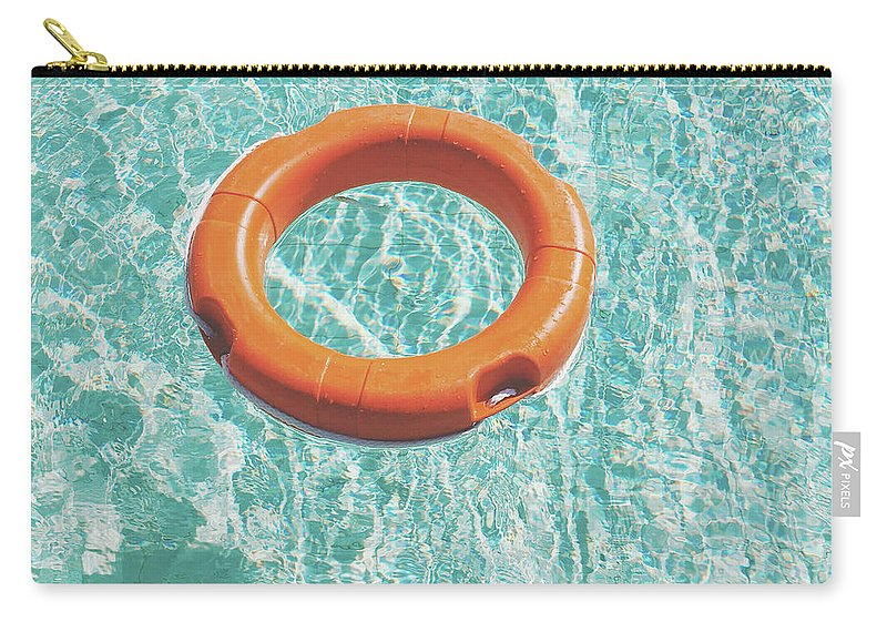 Water Carry-all Pouch featuring the photograph Swimming Pool III by Cassia Beck