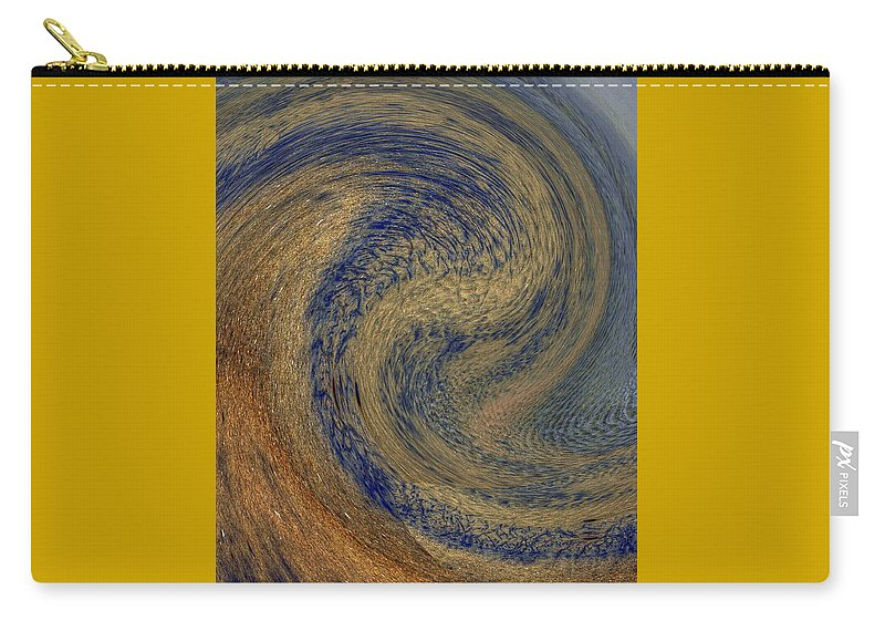 Abstract Photography Carry-all Pouch featuring the photograph Swirl by Richard Omura