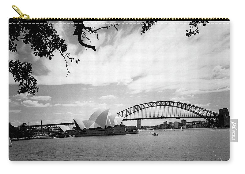 Australia Carry-all Pouch featuring the photograph Sydney Harbour by Heike Hellmann-Brown