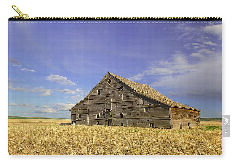 Barn Carry-all Pouch featuring the photograph Symbol Of Days Gone By by Jack Bell