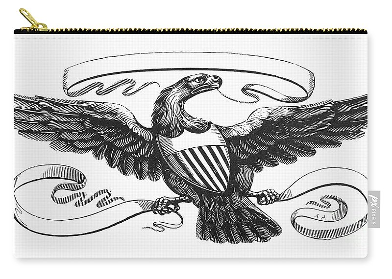 Symbols American Eagle Carry All Pouch For Sale By Granger
