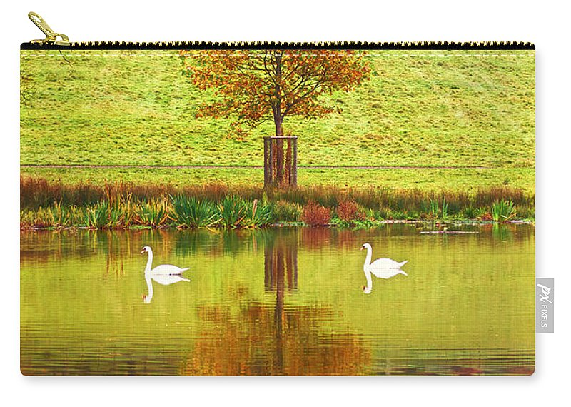 Reflections Carry-all Pouch featuring the photograph Symetry by Mark Egerton