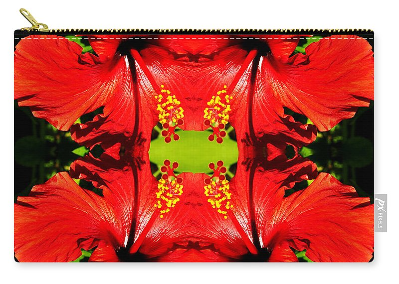 Clay Carry-all Pouch featuring the photograph Symmetry by Clayton Bruster
