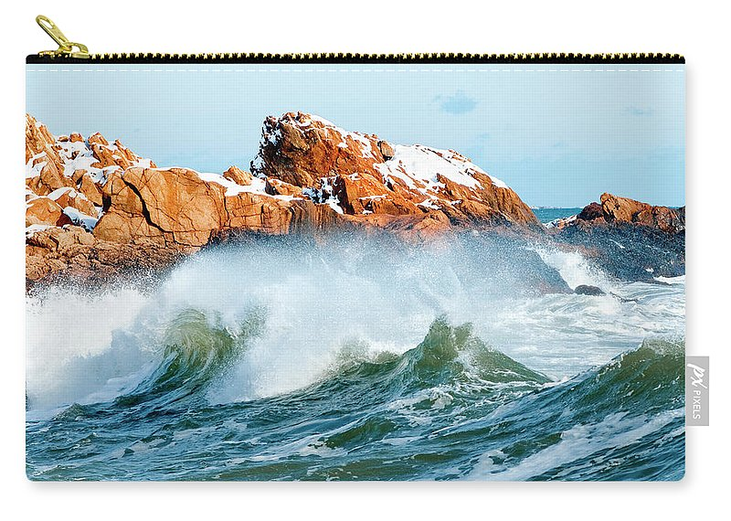 Gloucester Carry-all Pouch featuring the photograph Symmetry by Greg Fortier