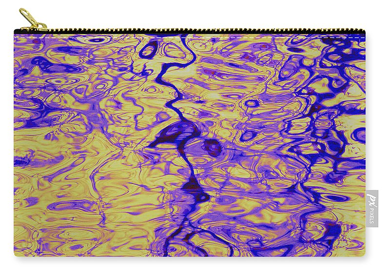 Water Art Carry-all Pouch featuring the photograph Systems by Sybil Staples