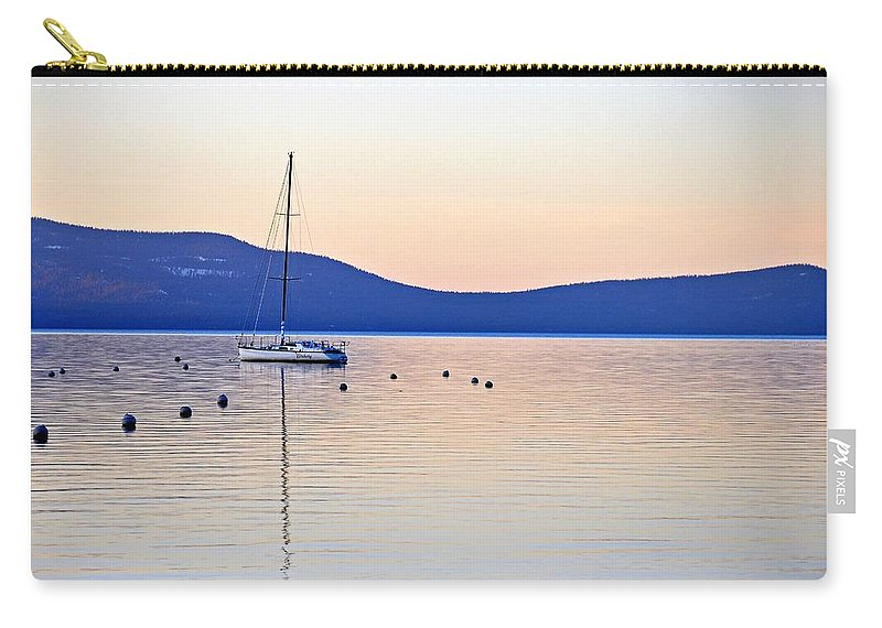 Boat Carry-all Pouch featuring the photograph Tahoe by Michael Brown