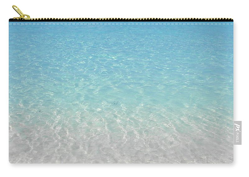 Caribbean Cruise Carry-all Pouch featuring the photograph Take Me Back To Half Moon Cay by Margaret Bobb