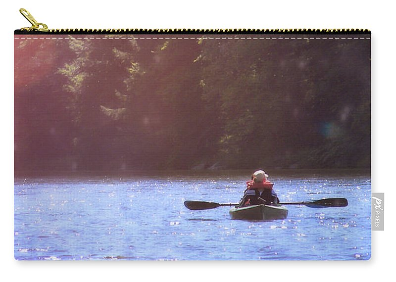 River Carry-all Pouch featuring the photograph Take Me There by JAMART Photography