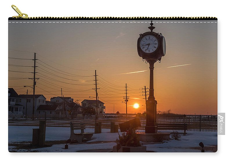 Terry Deluco Carry-all Pouch featuring the photograph Take Time To Remember Seaside Park Nj by Terry DeLuco