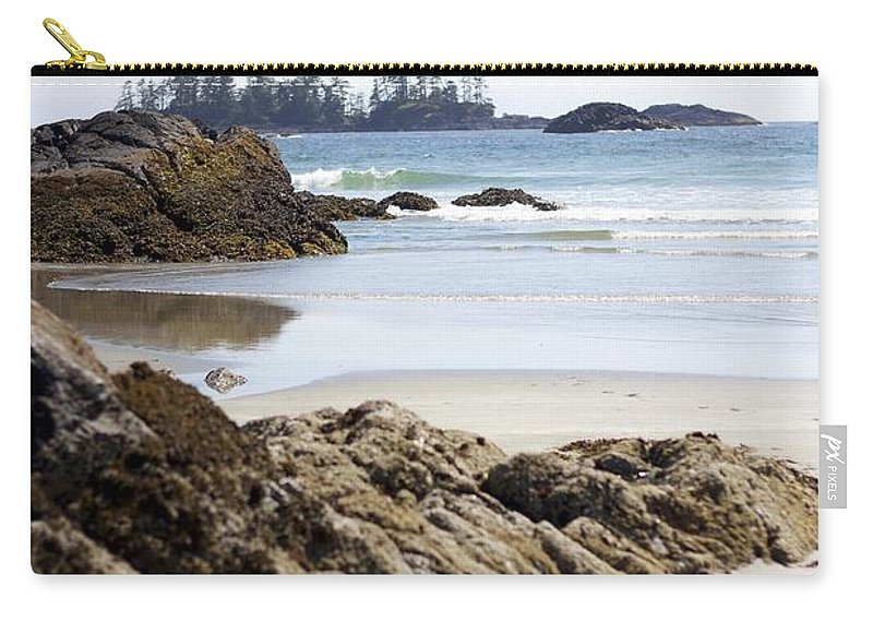 Tofino Carry-all Pouch featuring the photograph Long Beach Views by Alanna DPhoto
