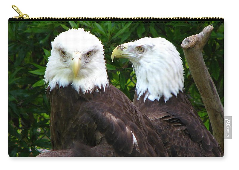 Carry-all Pouch featuring the photograph Talking To Me by Greg Patzer