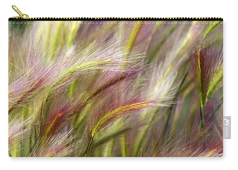 Plants Carry-all Pouch featuring the photograph Tall Grass by Marty Koch