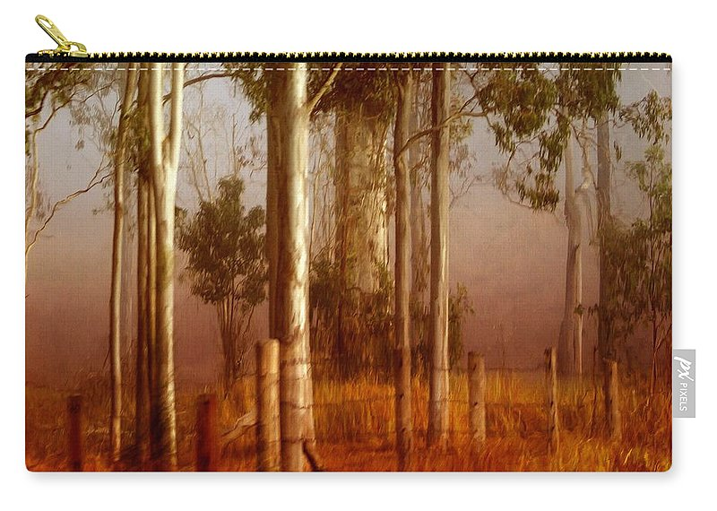 Landscape Carry-all Pouch featuring the photograph Tall Timbers by Holly Kempe