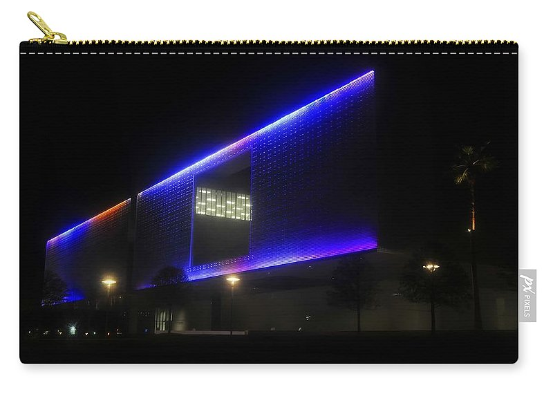 Tampa Museum Of Art Carry-all Pouch featuring the photograph Tampa Architecture by David Lee Thompson