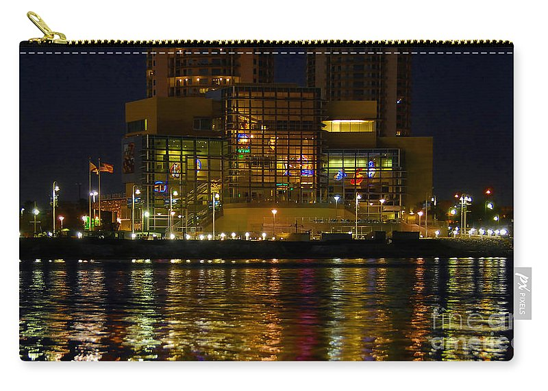 Tampa Bay History Center Carry-all Pouch featuring the photograph Tampa Bay History Center by David Lee Thompson