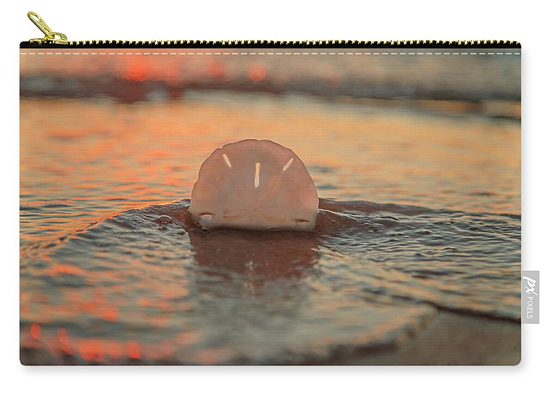 Sand Carry-all Pouch featuring the photograph Tangerine by Betsy Knapp