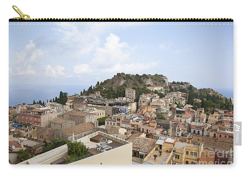 Carry-all Pouch featuring the photograph Taormina View II by Madeline Ellis