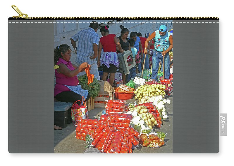 Tapachula Carry-all Pouch featuring the photograph Tapachula 8 by Ron Kandt