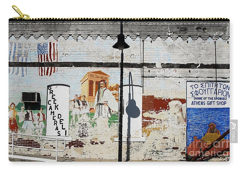 Greek Carry-all Pouch featuring the photograph Tarpon Springs by David Lee Thompson